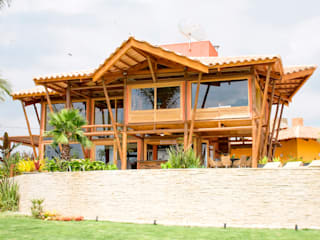 Casas de estilo rústico de VERRONI arquitetos associados Rústico