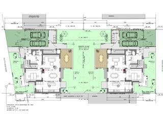 Neubau Wohnhäuser Niedernberg:   von Resonator Coop Architektur + Design,
