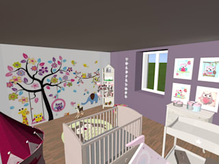 Nursery/kid's room by relion conception, Modern