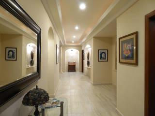 Living room by DHI Arquitectos y Constructores de la Riviera Maya, Modern
