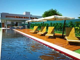 Moderne Pools von VERRONI arquitetos associados Modern