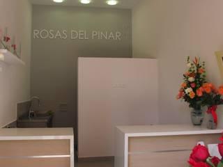 Rosas del Pinar: Oficinas y Tiendas de estilo  por Obras Son Amores,