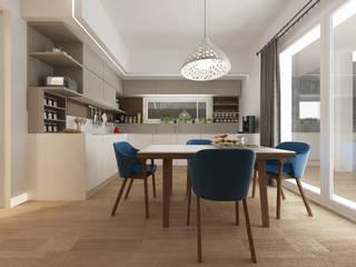 Cocinas mediterráneas de De Vivo Home Design Mediterráneo