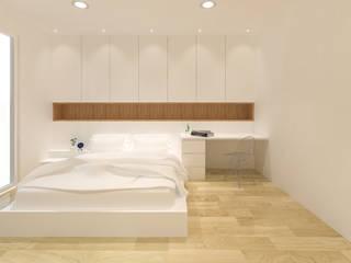 Minimalist bedroom by KERA Design Studio Minimalist