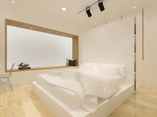 KERA Design Studio Minimalist bedroom