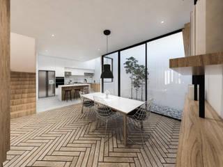 Modern dining room by KERA Design Studio Modern