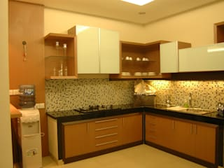 Kitchen Set and Living Room Oleh Anantawikrama Studio Modern
