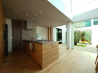 TERAJIMA ARCHITECTS/テラジマアーキテクツ Modern kitchen