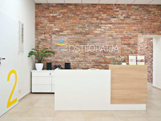 Modern clinics by SO INTERIORS ARCHITEKTURA WNĘTRZ Modern