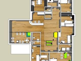 Konzept und Planung Kinderarztpraxis Goldbach:   von Resonator Coop Architektur + Design,
