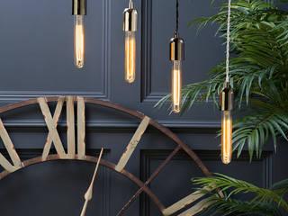 40 Watt E27 Edison Screw Vintage Decorative Tube Filament Light Bulb - Gold Tint Litecraft Living roomLighting