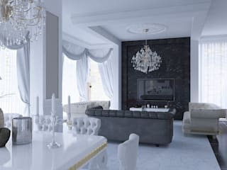 Classic style living room by Magic Mimarlık Classic