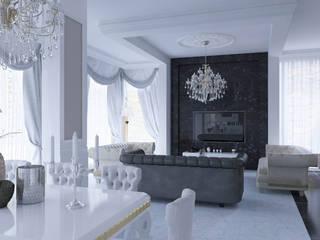Angora Evleri Klasik Oturma Odası Magic Mimarlık Klasik