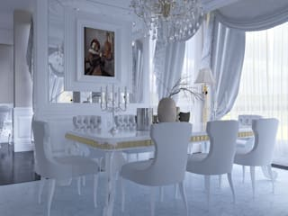 Classic style dining room by Magic Mimarlık Classic