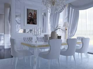 Angora Evleri Klasik Yemek Odası Magic Mimarlık Klasik