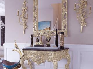 Pasillos, vestíbulos y escaleras clásicas de Magic Mimarlık Clásico