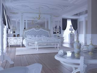 Magic Mimarlık – Angora villa:  tarz Yatak Odası