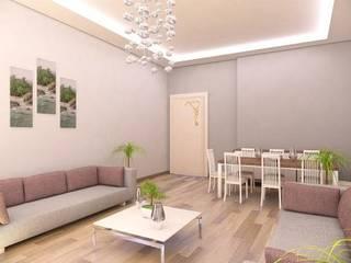 Arredeco  Mimarlık - Y. Mimar Caner Kutsal – Hoylu İnşaat:  tarz Oturma Odası