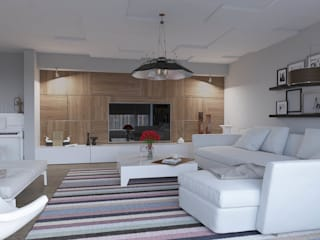 Mesa Sitesi Modern Oturma Odası Magic Mimarlık Modern