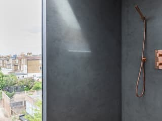 Dulwich Loft Conversation 現代浴室設計點子、靈感&圖片 根據 R+L Architect 現代風