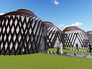 Sarissa Proje Tasarım –  EXPO 2020 DUBAI TURKEY PAVILION:  tarz Sergi Alanları