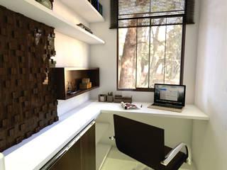 Escritório: Escritórios  por 3ak Arquitetura e Design,Moderno