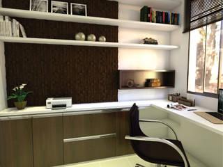 Escritório:   por 3ak Arquitetura e Design,Moderno