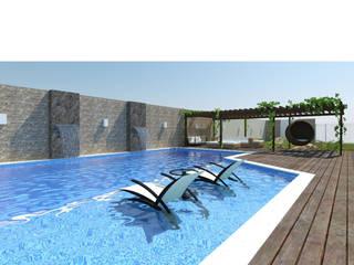 Residência unifamiliar: Casas  por 3ak Arquitetura e Design,Moderno