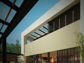 Jardin avant de style  par Dsg Arquitectura , Moderne