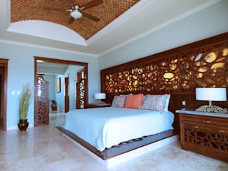 Mediterranean style bedroom by DHI Riviera Maya Architects & Contractors Mediterranean