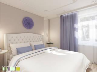 Classic style bedroom by Мастерская интерьера Юлии Шевелевой Classic