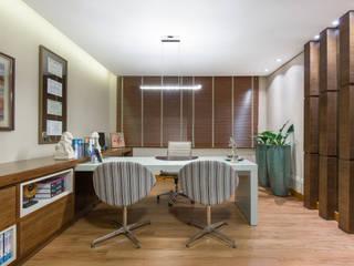 Estudios y despachos de estilo moderno de Charis Guernieri Arquitetura Moderno