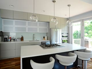 Brookland House Renovation/Addition Modern Kitchen by ARCHI-TEXTUAL, PLLC Modern