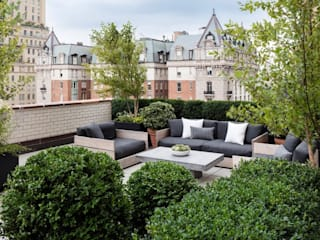 Rooftop Terrace Classic Moderner Balkon, Veranda & Terrasse von Ecologic City Garden - Paul Marie Creation Modern