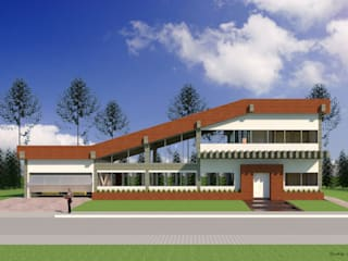 VU - 3 - VIVIENDA RESIDENCIAL UNIFAMILIAR de RR Arquitecto Moderno