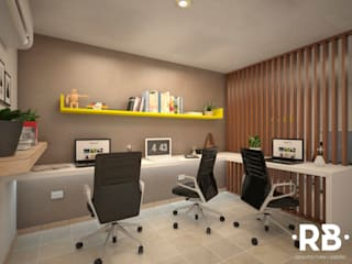 Study/office by RB Arquitectos, Modern