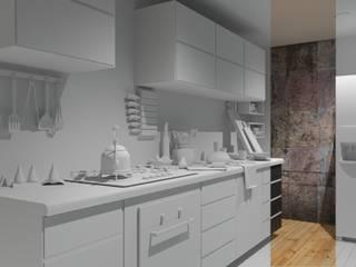 Cocina:  de estilo  por A11 Estudio | Arquitectura | Visualizacion | Construccion | Interiorismo