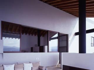 Гостиная в . Автор – VÁZQUEZ DEL MERCADO - ARQUITECTURA, Минимализм