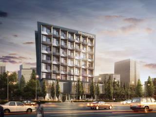 HOSPITALITY Hoteles de estilo moderno de IMG ARCHITECTS Moderno