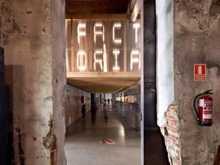 Factoría Cultural Madrid, Vivero de las industrias creativas en el Matadero Madrid Edificios de oficinas de estilo industrial de Office for Strategic Spaces (OSS) Industrial
