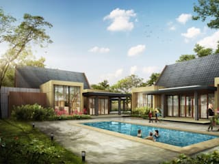 RESIDENTIAL IMG ARCHITECTS Rumah Modern