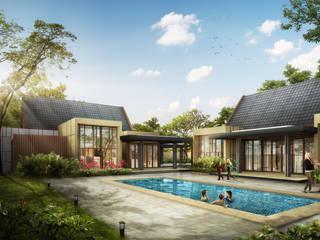 Casas de estilo moderno de IMG ARCHITECTS Moderno
