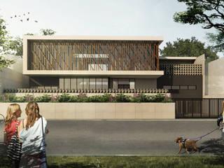 SETRA DUTA HOUSE - BANDUNG, JAWA BARAT Rumah Modern Oleh IMG ARCHITECTS Modern