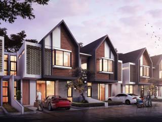 BEKASI HOUSING - BEKASI, JAWA BARAT Rumah Modern Oleh IMG ARCHITECTS Modern