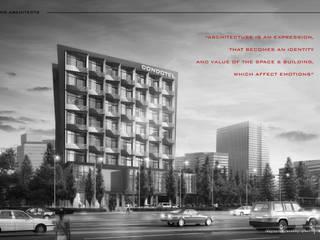 Edificios de oficinas de estilo moderno de IMG ARCHITECTS Moderno
