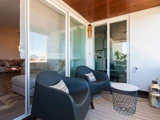 Apartamento c/ 1 quarto - Paço de Arcos, Oeiras:   por Traço Magenta - Design de Interiores
