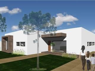Casa HC: Casas de campo  por Sandra Ferreira, Arquitetura,Moderno