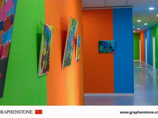 RENOVACION ESCUELA INFANTIL: Dormitorios infantiles de estilo  de GRAPHENSTONE