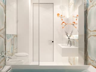 Eclectic style bathrooms by YOUSUPOVA Eclectic
