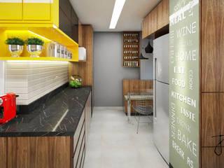 Cozinha Moderna por Ju Lima Arquitetura e Interiores Moderno